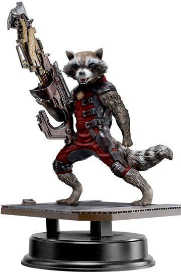 DRAGON GUARDIANS OF THE GALAXY ROCKET  RACCOON rot SUIT VERS.  VIGNETTE STATUE
