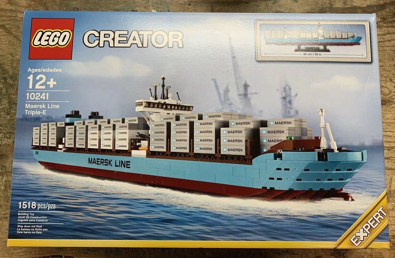 LEGO CREATOR 10241 MAERSK LINE TRIPLE BRAND NY Sätt fast Herregud