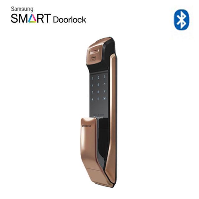 SAMSUNG Keyless Fingerprint Bluetooth Digital IOT Door Lock Push&Pull  SHP-DP930