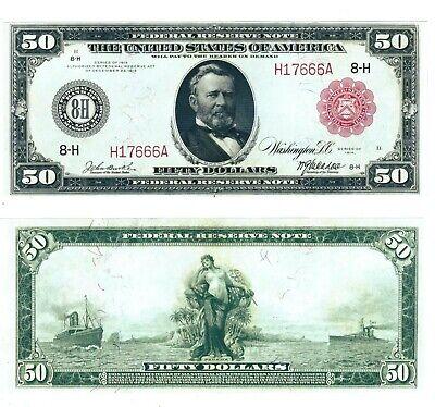 1914 Series FR Bank Notes Hybrid Commemorative Set of All 5 Modern US $2 Bills
