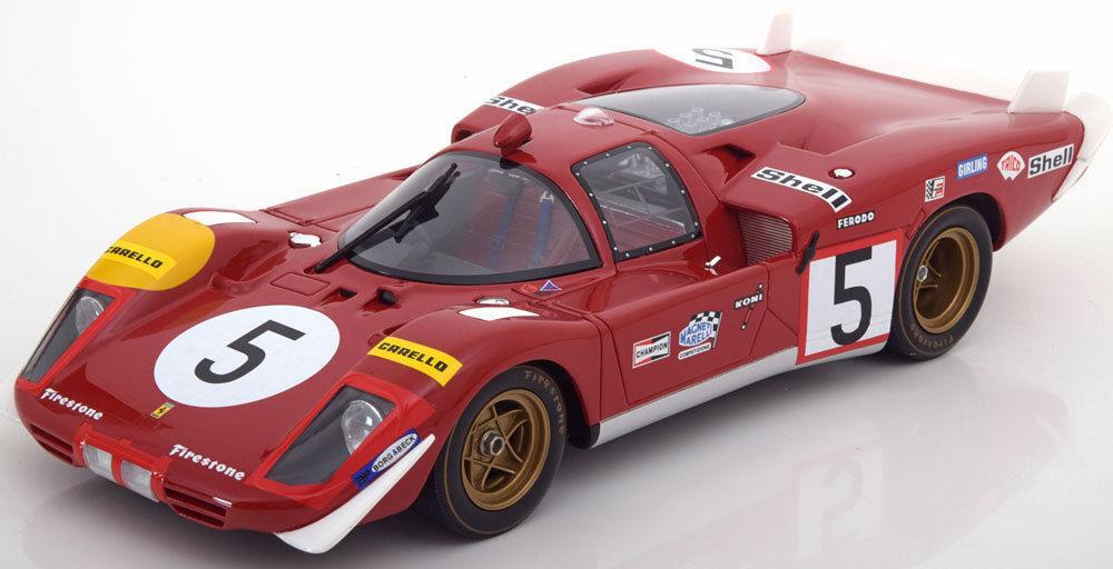 CMR Ferrari 1970 512 S  5 24h Le Mans Long Tail 1:18 Rare Find
