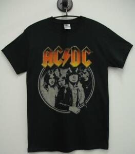 Camiseta-Manga-Corta-ACDC-Rock-Chico-HIGHWAY-TO-HELL-Rock-Men-t-Shirt
