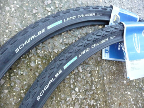PAIR 700X35C SCHWALBE LAND CRUISER Cycle Bike Tyres NEW Cyclo cross country TOUR