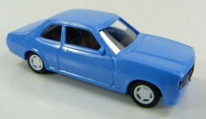 Opel-Ascona-hellblau-Euromodell-1-87-OVP-ST
