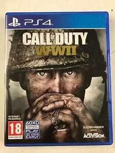Call-of-Duty-World-War-2-WWII-Sony-PS4-Playstation-4-gebraucht-schnelle-versandkostenfrei