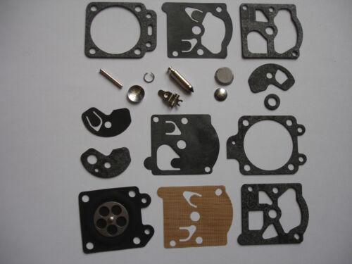 Walbro Carb Kit K10 Wat K10-WAT Réparation WA WT Diaphragme Joint Husqvarna Echo