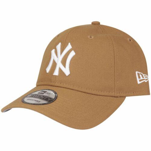 New York Yankees wheat beige New Era 9Twenty Strapback Cap