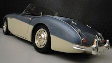 Vintage Sport Race Car 1950s GT Concept Rare Exotic Classic Carousel Blue 1 18