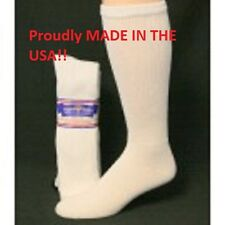 9 Pair of White Over The Calf Diabetic Socks Size 10-13 Over The Calf