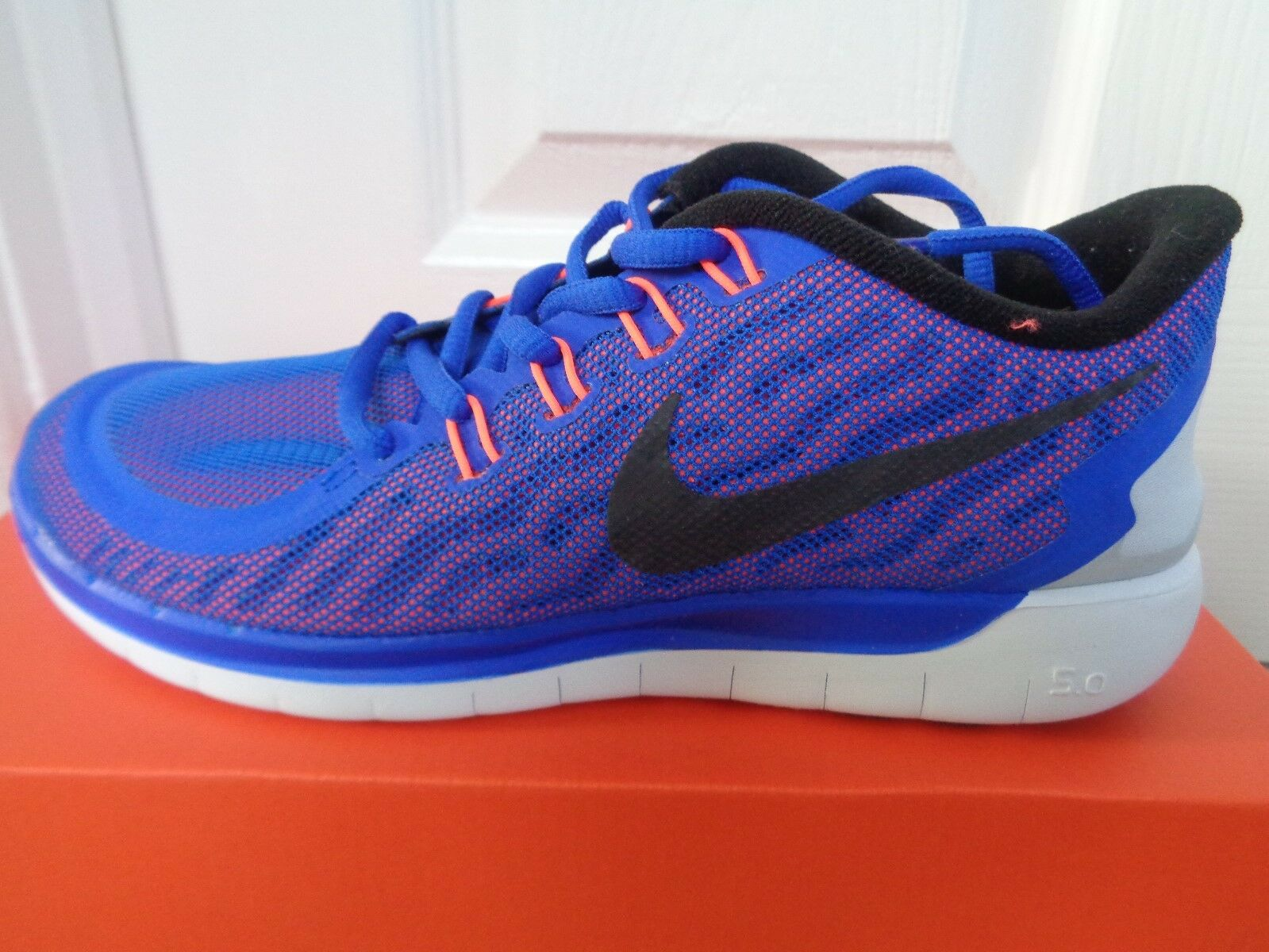 Nike Free 5.0 Flash wmns trainers sneaker 806575 408 uk 4 eu 37.5 us 6.5 NEW+BOX