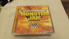 CD de Monster Jam Maximun destruction