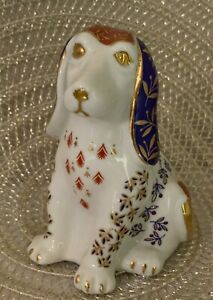 Vintage-Fine-Japanese-Takahashi-San-Francisco-Hand-Painted-Dog-Ceramic-Figurine