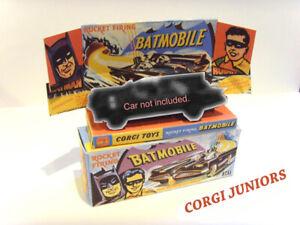 CORGI-JUNIORS-Batmobile-SUPERBA-scatola-di-presentazione-personalizzate-e-vassoio-solo-assemblato
