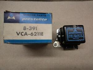 Prestolite 15V Voltage Regulator, 8-391 (VSA-6211E), 8-402, Ford, Comet, NOS!