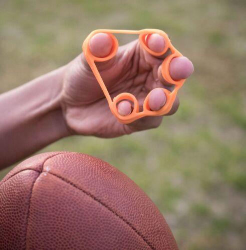 Nelobrand Set of 3 Finger Stretcher Hand Exercise Resistance Bands Training Set
