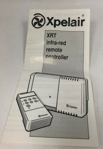 Xpelair XRT Infrared Remote Fan Controller 89503AW 220-240V AC