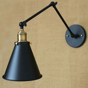 Swing Arm Wall Lamp Diy Adjule