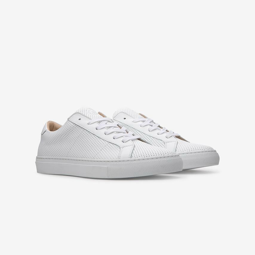 Great bianca Perforated Royale scarpe da ginnastica (Wouomo US 7,  UK 5, EUR 37)  è scontato