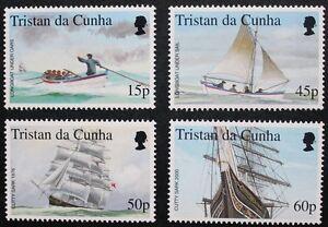 034-The-stamp-show-2000-034-stamps-2000-Tristan-da-Cunha-SG-ref-678-681-MNH