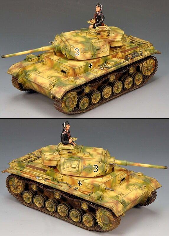 KING OCH LAND WWW2 TYSKA ARMY WS134 PANZER III TANK SET MIB