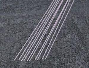 100 Lengths Black Fibre Glass Stems 60 cm. 1.0mm 2 Ft. Long