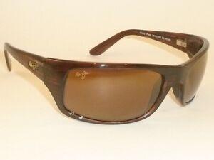 Brand-NEW-Authentic-Polarized-MAUI-JIM-PEAHI-Sunglasses-H202-10-Bronze-Lenses