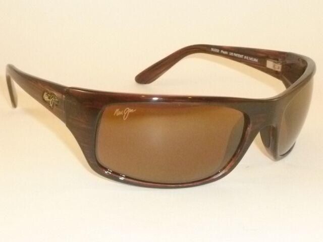 a1f324fddba6 Brand NEW Authentic Polarized MAUI JIM PEAHI Sunglasses H202-10 Bronze  Lenses