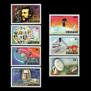 Grenada-1976-100th-Anniv-of-the-First-Telephone-Technology-Sc-780-6-MNH