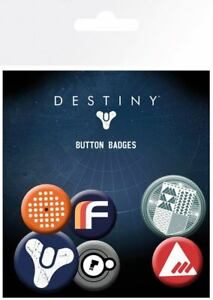 Destiny-Ansteck-Buttons-6er-Pack-Mix-NEU-amp-OVP