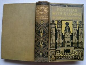 Egyptian-Myth-And-Legend-Donald-A-Mackenzie-Gresham-Circa-1920-Illustrated