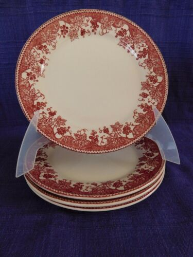 Claytan Vineyard Pink SALAD PLATE 1 of 4 available have more items to set