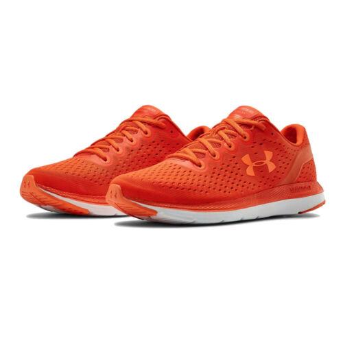 Under Armour Herren Charged Impulse Turnschuhe Laufschuhe Sneaker Schuhe Orange