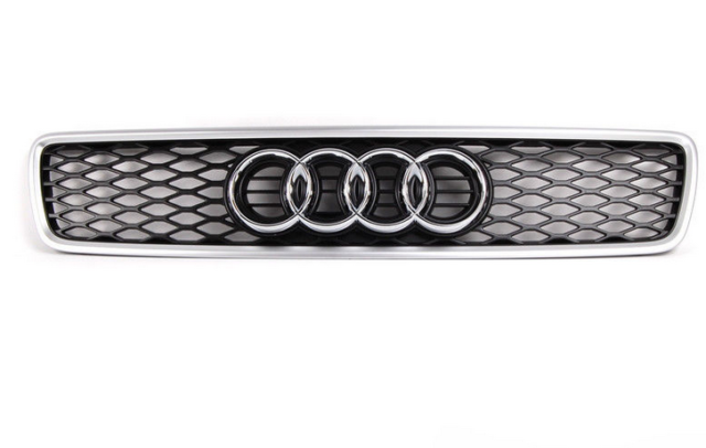 AUDI A4 B5 Front Radiator Grille Chrome 8D0853651T1L1 NEW GENUINE 1999