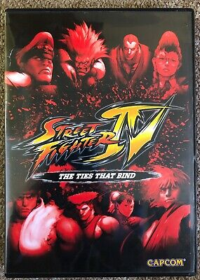 Street Fighter Iv The Ties That Bind Microsoft Xbox 360 Xbox