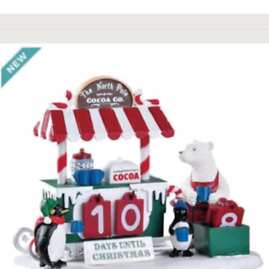 image is loading lemax michaels cocoa while we 039 re waiting - Christmas Village Sets Michaels