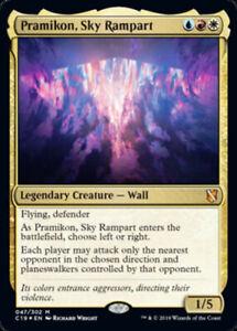 Pramikon-Sky-Rampart-Foil-x4-Magic-the-Gathering-4x-Commander-2019-mtg-card-l