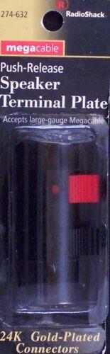 RadioShack 274-632 Megacable Push-Release Speaker Terminal Plate