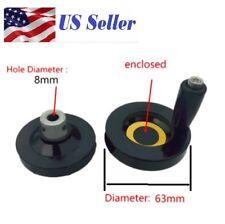T8 8mm 516 Bore Trapezoidal Lead Screw Hand Wheel Diameter 63mm Cnc Cranking