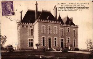 CPA AK PREUILLY-sur-CLAISE Le Chateau du Lion (611645)