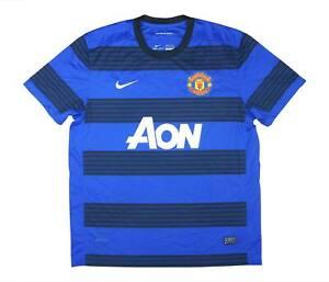 Manchester United 2011-13 Authentic Away Shirt (eccellente) XL soccer jersey