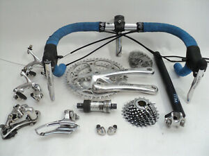 Vintage-90s-CAMPAGNOLO-DAYTONA-9s-triple-group-set-build-kit-gruppe-record