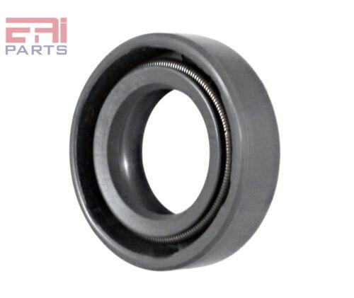 Metal Case w// NBR Coating Oil Seal 15X26X7mm TC EAI Double Lip w// Spring