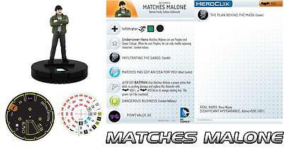 Heroclix Matches Malone #102 NEW NIB Limited Edition DC Comics Figure