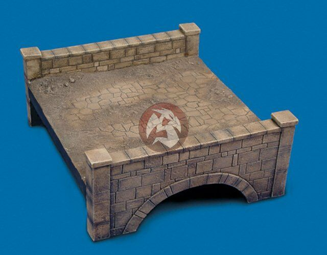 Royal Model 1 35 Country Bridge Section (Plaster) [Diorama Model kit] 347