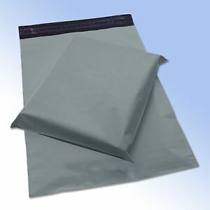 10-Strong-Grey-Self-Seal-Poly-Plastic-Postage-Mailing-Bags-6-5x9-034-165x230mm