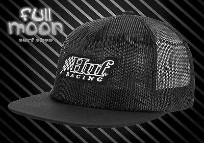 New HUF Blackout Checkered Mens Strapback Cap Hat