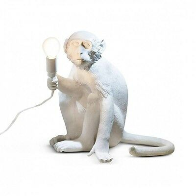 Monkey Lamp Seletti Lampada Scimmia seduta - Affe sitzt - Singe assise