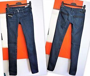 2f097cad DIESEL CLUSH Women's Slim Fit Skinny Leg Dark Blue Wash 008FE ...