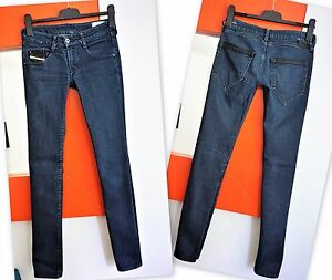 1c4f715d DIESEL CLUSH Women's Slim Fit Skinny Leg Dark Blue Wash 008FE ...