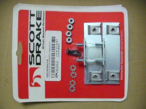 1970 Mustang-Door Deluxe Armrest Brackets or Deluxe Door Panel Mounting Brackets